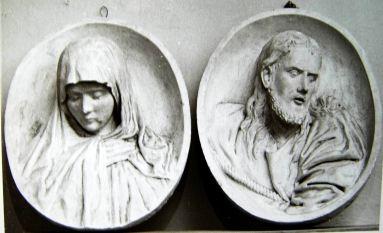 04為耶穌與聖母的雕塑