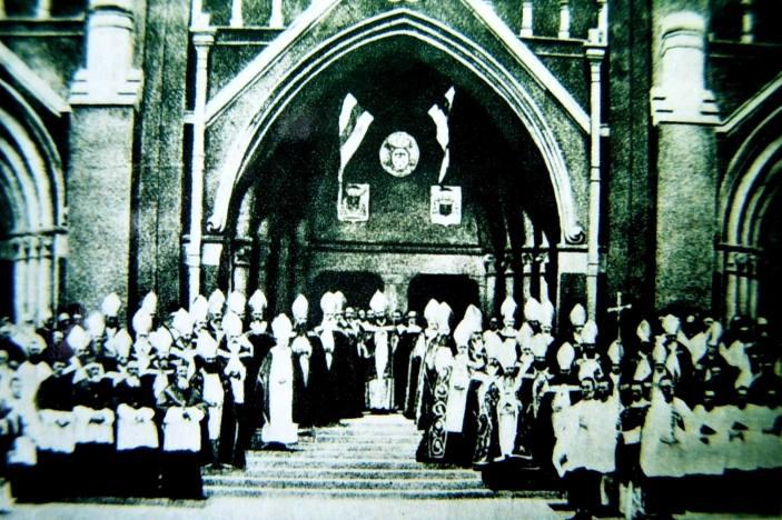 14出席上海會議的主教