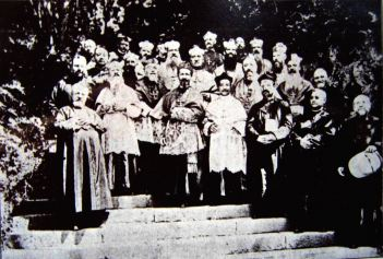 15上海會議後主教赴佘山朝聖