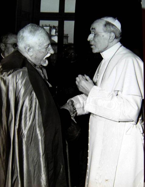 37拜見教宗碧岳十二世