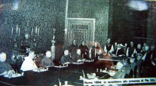 44參加教宗御前會議